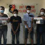 Edarkan Narkoba, Dua Orang di Ngoro Mojokerto Ditangkap Polisi