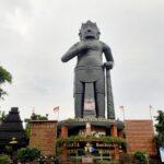 Patung Gajah Mada di Wisata Desa Mojokerto, Amanah Raja-Raja Nusantara