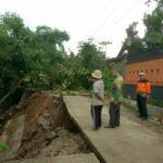 Jalan Alternatif Pengubung Antar Kecamatan di Tulungagung Longsor