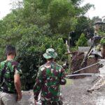Plengsengan di Bunul Malang Ambrol, Satu Orang Diduga Hilang Terseret Longsoran