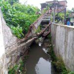 Terkikis Air Hujan, Plengsengan di Kota Malang Ambrol