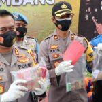 Awal 2021, Polres Jombang Ringkus 33 Tersangka Tindak Kejahatan