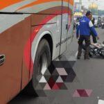 Warga Kediri Tewas Terlindas Bus Mira di Jalanan Sidoarjo