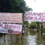 Korban Banjir Bengawan Jero Lamongan: Selamat Datang di Desa Apung