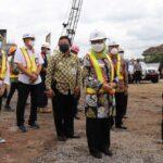 Bupati Jombang Tinjau Pembangunan Jembatan Ploso