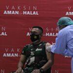 Disuntik Vaksin Covid-19 Perdana, Dandim Mojokerto : Tidak Terasa Sama Sekali