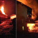 Pabrik Karet di Jember Terbakar Dua Kali, Sempat Padam Subuh Terbakar Lagi