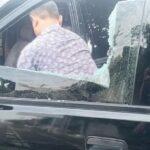 Dua Mobil Dikabarkan Jadi Sasaran Lempar Kaca di Trowulan Mojokerto