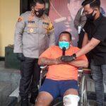Tersangka Penjambret Ibu Hamil di Mojokerto Ditangkap Setelah Ditembak Kakinya