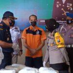 Polres Tanjung Perak dan Bea Cukai Gagalkan Penyelundupan 7 Kg Sabu ke Madura