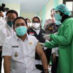 Inilah Para Tokoh Penerima Vaksin Covid-19 Pertama di Kabupaten Jombang