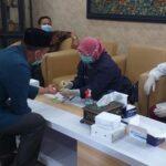 25 Anggota dan Karyawan DPRD Pamekasan Jalani Rapid Test, Tiga Staf Reaktif