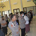 Doakan Korban Pesawat Sriwijaya Air SJ-182, Polres Situbondo Gelar Salat Gaib