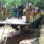 Sidak Jembatan Ambruk, DPRD Pamekasan Desak Dinas Terkait Segera Perbaiki