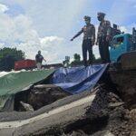 Penyebab Jalan Tol Surabaya-Gempol KM 06+200 Ambles Masih Gelap