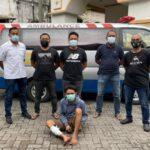 Polisi Tembak Kaki Tersangka Curanmor di Surabaya