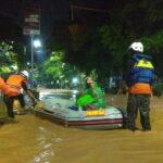 Selain Longsor, Banjir Juga Terjang 10 Desa di Nganjuk