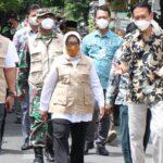Bupati Mundjidah Pantau dan Evaluasi Hasil PPKM Mikro di Jombang