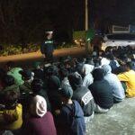 Razia Balap Liar di Blitar, 151 Pemuda Diamankan