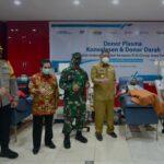 Kunjungi PMI Kota Surabaya, Menko PMK : Ada Kekurangan Kantong Plasma Konvalesen