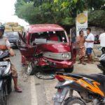Mobil Oleng, Tiga Kendaraan Terlibat Kecelakaan Beruntun di Pamekasan