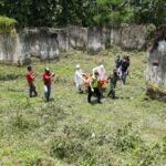 Mayat Perempuan Terkubur Setengah Badan Ditemukan di Bekas Mess PJB Malang