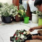 Valentine Saat Pandemi, Penjual Buket di Mojokerto Tetap Panen Orderan