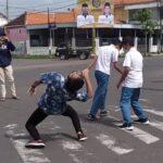 Tiktok di Traffick Light Situbondo, Empat Pemuda Diamankan Polisi