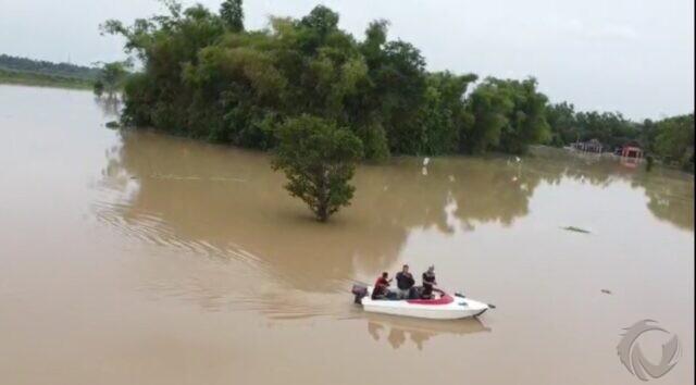 5 Hari Banjir Bandarkedungmulyo Jombang, 2 Desa Surut, 3 Desa Masih Parah