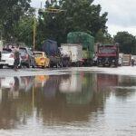 Tanggul Sungai Brawijaya di Jombang Jebol, Lalu Lintas Sempat Tersendat