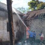 Tinggal Sendirian, Rumah Bujang di Jember Ludes Terbakar