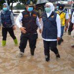 Banjir di Jombang Akibat Tumpukan Sampah di Sungai, Gubernur Khofifah Akui Lengah
