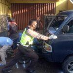 Suzuki Carry Tabrak 4 Sepeda Motor di Sidoarjo, 1 Tewas 3 Luka Berat