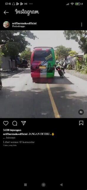 Viral Video Minibus Tabrak Anggota Satlantas Polres Probolinggo, Polisi Periksa Pelaku