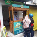 Mereguk Es Dawet Kudus Cak Minto Surabaya dengan Sensasi Nangka