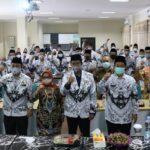 Hadiri Rapat Koordinasi Pengurus PGRI Kabupaten Jombang, Ini Pesan Bupati Mundjidah Wahab