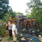 Hilang Kendali, Truk Hantam Pemotor di Hutan Baluran Situbondo, Pengendara Tewas