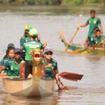 Brantas Banyak Sampah dan Deras, Persiapan PON 2021 Atlet Dayung Mojokerto Pindah ke Sungai Ngotok