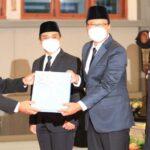 Sertijab Wali Kota dan Wawali Kota Pasuruan, Gus Ipul Fokus Sukseskan Program 99 Hari Kerja