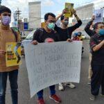 Wartawan Tempo Dianiaya di Surabaya, AJI Jember Demo Tuntut Polda Usut Tuntas