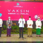 Jokowi : Pemerintah Bakal Perbanyak Distribusi Vaksin AstraZeneca di Jatim
