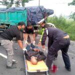 Truk Tabrak Dua Motor di Sidoarjo, Warga Mojokerto dan Malang Patah Tulang