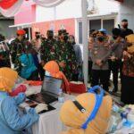 Panglima TNI di Surabaya: Prajurit TNI/Polri Akan Diterjunkan Bantu Percepatan Vaksinasi Nasional