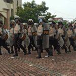 Petugas Keamanan Masih Berjaga di Lokasi Kongres HMI Pascaricuh