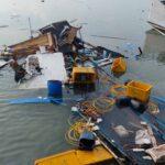 Perahu Motor di Sumenep Tiba-tiba Meledak dan Hancur , 4 Orang Luka-luka