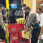 Polisi Sita Ratusan Botol Miras dari Eks Lokalisasi GS Situbondo