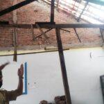 Ruang Multimedia SMPN 1 Jember Tebengkalai Sejak Atapnya Ambruk 8 Bulan Lalu