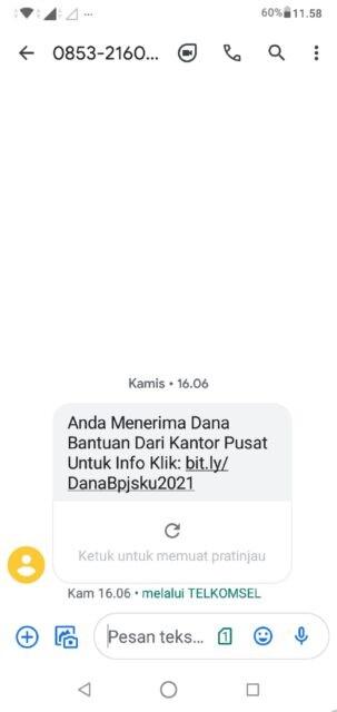 Marak SMS Warga Terima Bansos, Kapolres Jombang Imbau Masyarakat Waspada