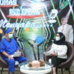 Poli THTKL RSUD Jombang Gelar Talk Show Gangguan Penciuman di Masa Pandemi