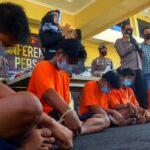 Sembilan Tersangka Perusak Rumah di Nganjuk Ditangkap Polisi